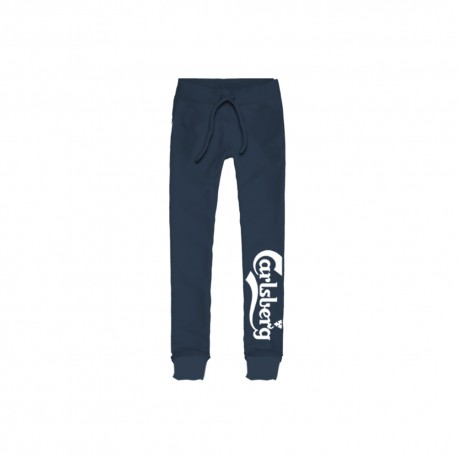 Carlsberg Pantalone Polsino Logo Blu Uomo