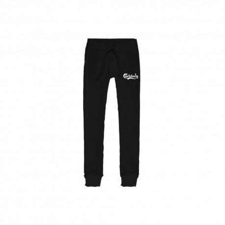 Carlsberg Pantalone Polsino Logo Nero Uomo