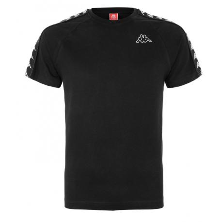 Kappa T-Shirt Banda Nero Uomo