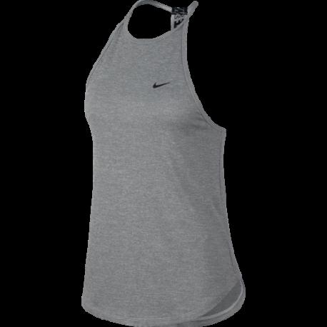 Nike Canotta Palestra DriFit Stripped Nero Donna