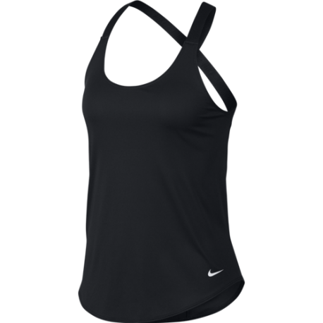 Nike Canotta Palestra DriFit Nero Donna