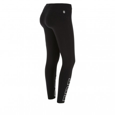Freddy Leggings Sportivi Nero Donna