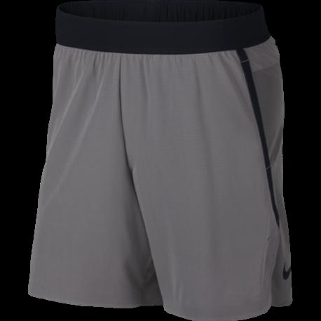 Nike Pantaloncino Palestra Flex Tech Pack Grigio Uomo
