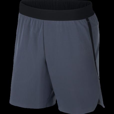 Nike Pantaloncino Palestra DriFit Flex Tech Pack Blu Uomo
