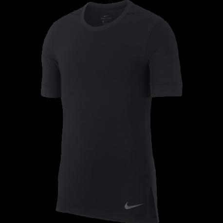 Nike Maglietta Palestra DriFit Yoga Nero Uomo