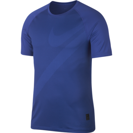 Nike Maglietta Palestra DriFit Pro Blu Uomo