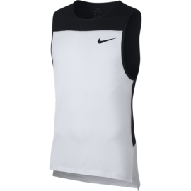 Nike Canotta Palestra Pro Bianco Uomo