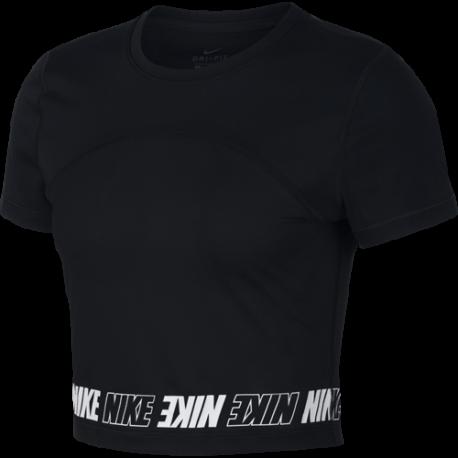 Nike Maglietta Palestra Pro DriFit Nero Donna