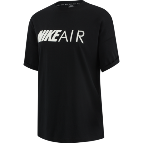Nike Maglietta Palestra Air Loose Fit Nero Donna