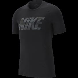 Nike Maglietta Palestra Pro Nero Uomo