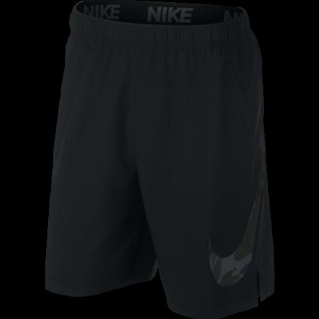 Nike Pantaloncino Palestra DriFit Flex Tech Pack Nero Uomo