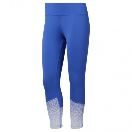 Reebok Leggings Crossfit Speedwick Blu Donna