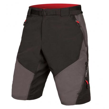 Endura Pantaloncini MTB Hummvee II Dwr Liner Grigio Uomo