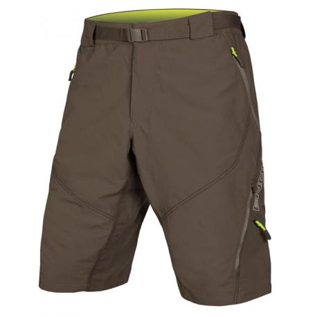 Endura Pantaloncini MTB Hummvee II Dwr Liner Verde Uomo