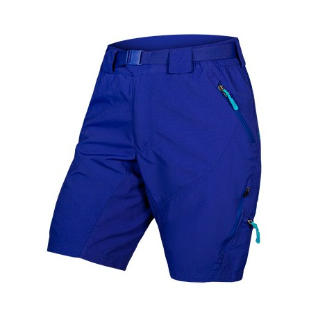 Endura Pantaloncini MTB Hummvee II Dwr Liner Blu Donna