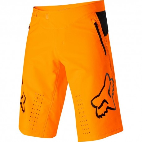 Fox Pantaloncini MTB Defend Atomic Arancio Uomo