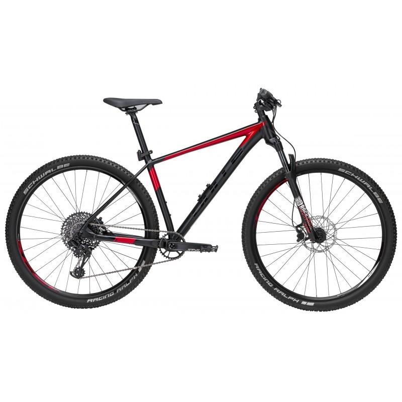 Bulls MTB Mountain Bike Copperhead 3 Gx 29 Nero Opaco Rosso