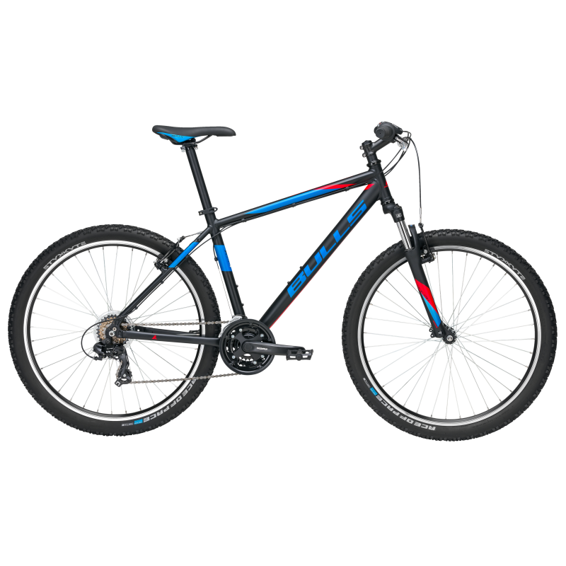 Bulls MTB Mountain Bike Pulsar Eco 27,5 Nero Opaco Blu