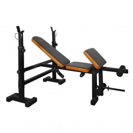 Get Fit Force 445 Panca Multiuso C/Porta Bilanciere