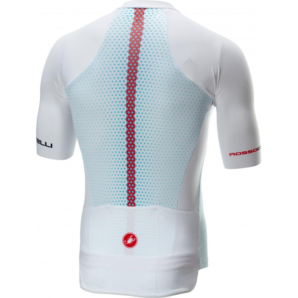 ce3373003e79 Castelli Maglia Ciclismo Aero Race 6.0 Bianco Uomo - Acquista online ...