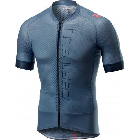 Castelli Maglia Ciclismo Climber's 2.0 Blu Acciaio Uomo