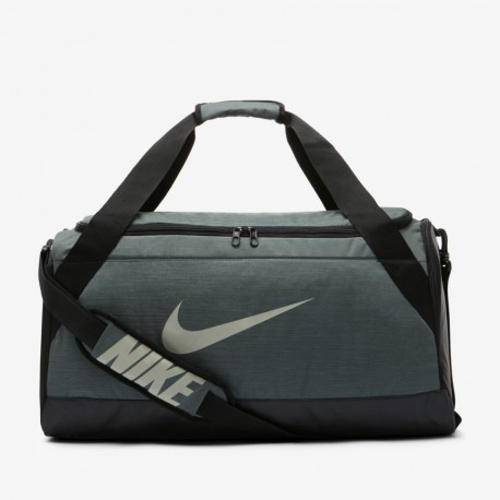 Nike Borsone Palestra Brasilia Duff Blu Petrolio Nero Uomo