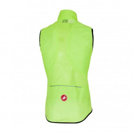 Castelli Gilet Ciclismo Squadra Er Yellow Fluo Uomo