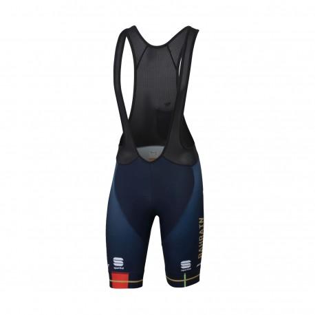 Sportful Salopette Ciclismo Bodyfit Bahrain Merida Blu Uomo