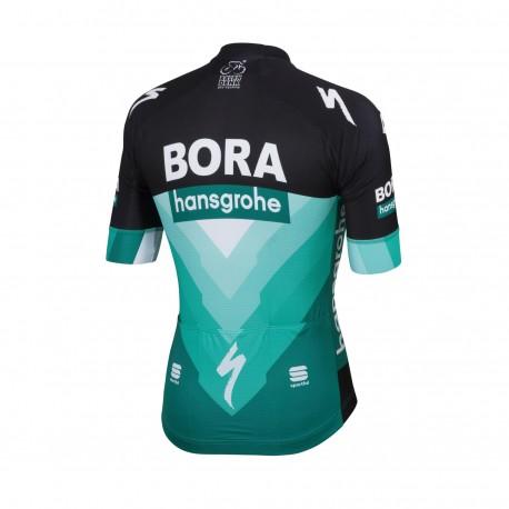 Sportful Maglia Ciclismo Bodyfit Team Bora Nero Verde Uomo