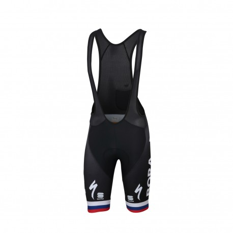 Sportful Salopette Ciclismo Bodyfit Team Bora Slovak Nero Uomo