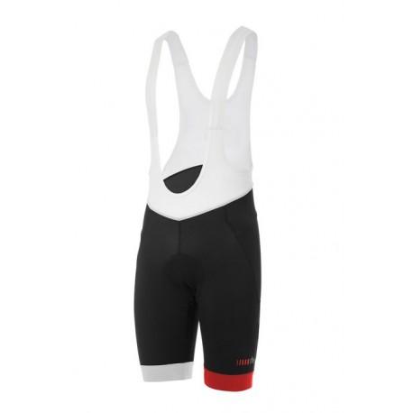 Zerorh+ Salopette Ciclismo Academy Nero Bianco Rosso Uomo
