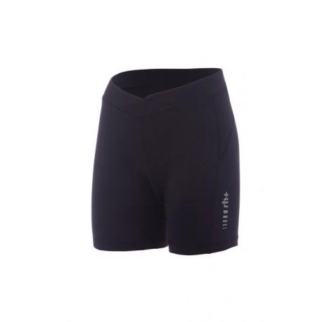 Zerorh+ Pantaloncini Ciclismo Fit W Nero Donna