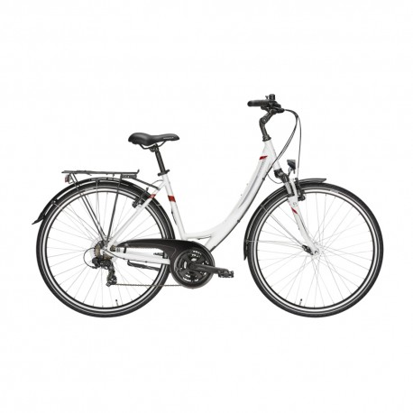 Pegasus City Bike Avanti 21 Wave Bianco Donna