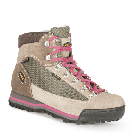 Aku Pedule Trekking Ultra Light Gtx Sabbia Fragola Donna