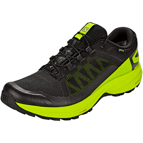 Salomon Scarpe Trail Running Xa Elevate Gtx Nero Lime Uomo