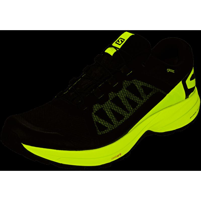 Salomon Scarpe Trail Running Xa Elevate Gtx Nero Lime Uomo