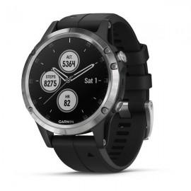 Garmin GPS Fenix 5 Plus Nero/Silver