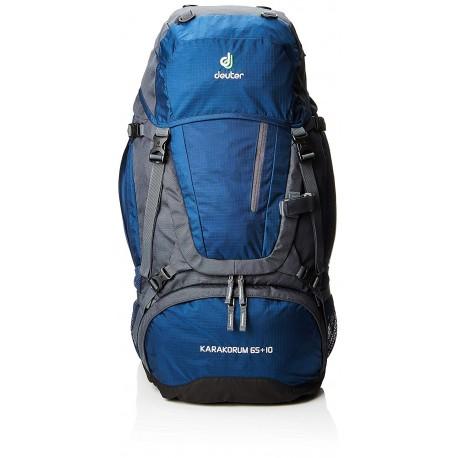 Deuter Zaino Trekking Karakorum 65+10 Lt Grigio Blu