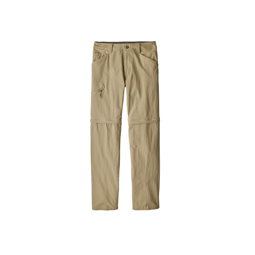 size 40 5909b db1fa Patagonia Pantaloni Trekking Quandary Convertible Beige Uomo