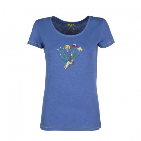 Rock Experience Maglia Trekking Madison Blu Donna