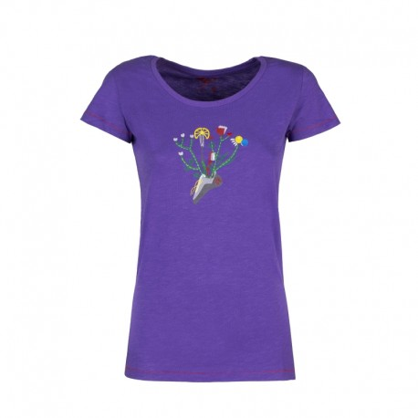 Rock Experience Maglia Trekking Madison Viola Donna