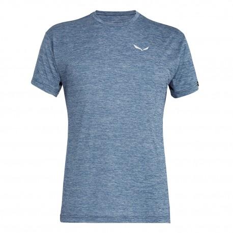 Salewa T-Shirt Puez Melange  Poseidon