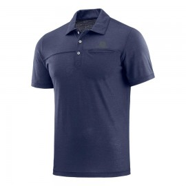 Salomon Polo Explore Blu Uomo
