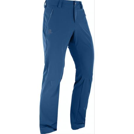 Salomon Pantaloni Trekking Wayfarer Straight Lt Azzurro Uomo