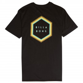 Billabong T-Shirt Mare Back Logo Nero Uomo