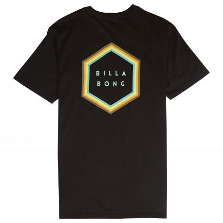 Billabong T-Shirt Mare Back Logo Nero Uomo