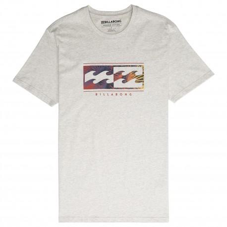 Billabong T-Shirt Mare Logo Grigio Uomo