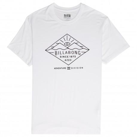 Billabong T-Shirt Mare Tessuto Eco Bianco Uomo