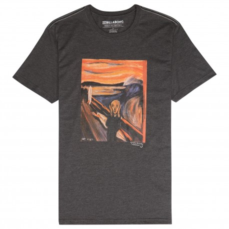 Billabong T-Shirt Mare Fantasia Munch Nero Uomo
