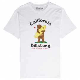 Billabong T-Shirt Mare Fantasia California Bianco Uomo